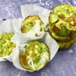 Spinach, Pea & Spring Onion Egg Muffins